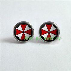 Resident Evil Corporation Earrings