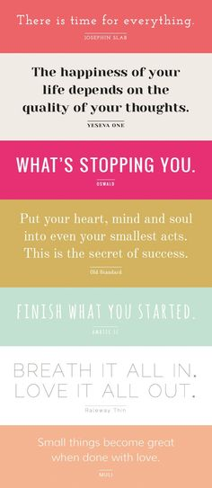What's stopping you? Nothing!  A new day is about to begin and it will be beautiful.