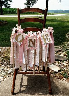 Check out this item in my Etsy shop https://www.etsy.com/listing/464123443/pink-and-gold-1st-birthday-high-chair