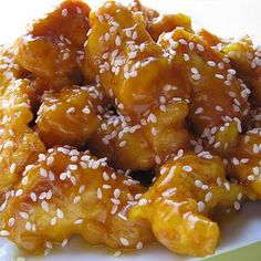 Chinese Honey Chicken is so easy to make at home, you won't be stopping for take out! Serve with rice, and don't forget the fortune cookies!