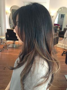 Balayage hair. Beautiful! i need to di this next time my hair is long!