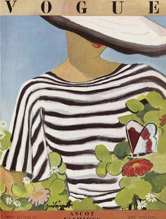 love me a striped top l vintage Vogue l May 1936
