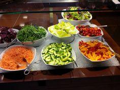 Salad buffet @ Restaurant Dim Sum @ Mövenpick Airport Hotel