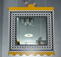 1988 Mirror by Alessandro Mendini and Alessandro Guerriero