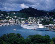 Image detail for -Cruise ship in the port of St. George's (Grenada)