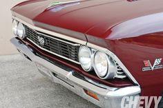1966 Chevrolet Chevelle Grill