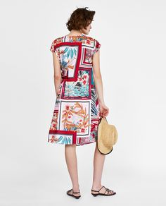 Zara, Short Sleeve Dresses, Dresses With Sleeves, Casual, Pattern, Prints, Vintage, Style, Fashion