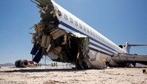 The dramatic desert crash of a Boeing 727 was staged for a television documentary about aircraft safety and surviving aviation accidents. Find out the details of this experiment, which took over 4 years to plan and produce. A slide show and video clip also accompany this report. See: http://su.pr/6CO4UT