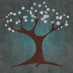 BG.Studio - Tree Spring - art prints and posters
