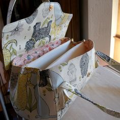 dog fabric purse