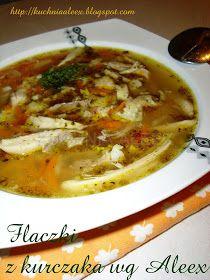 W mojej kuchni: Flaczki z kurczaka wg Aleex Ketogenic Recipes, Low Carb Recipes, Healthy Recipes, Polish Recipes, Soups And Stews, Food And Drink, Dishes, Cooking, Ethnic Recipes