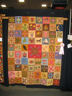 Award winning quilt by Wendy Caton Reed of Bath, Maine.
