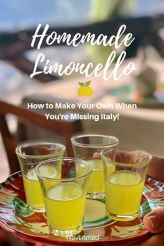 Italian Limoncello Recipe: How To Make the Authentic Kind Your Foodie Friends Wi… Authentic Limoncello Recipe, Italian Limoncello Recipe, Making Limoncello, Homemade Limoncello, Homemade Alcohol, Homemade Liquor, Lemon Cello Recipe, Alcohol Recipes, Drink Recipes