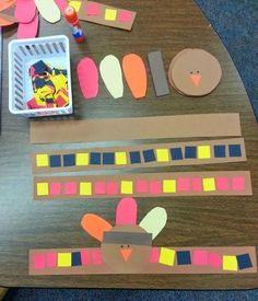 Over Thanksgiving Crafts & Food Crafts for a Kid Friendly Fun Time! - Over Thanksgiving Crafts & Thanksgiving Food Crafts ( Fun Foods) for Kids! Thanksgiving Activities For Kindergarten, Thanksgiving Crafts For Kids, Holiday Activities, In Kindergarten, Thanksgiving Turkey, Fall Preschool, Thanksgiving Cookies, Preschool Learning, Thanksgiving Decorations