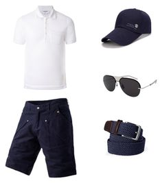 """""""Sin título #3"""" by carolinabonillahiguera on Polyvore featuring Thom Browne, Christian Dior, Lands' End, men's fashion y menswear"""