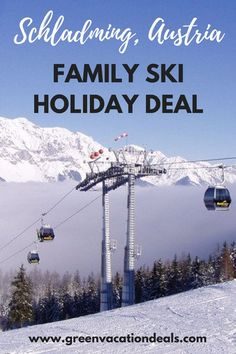 Austria Family Travel Idea - take an amazing ski holiday in Schladming Austria and save money! Take advantage of a great family holiday deal, save lots of money on your ski trip and enjoy a beautiful medieval town in Austria. Perfect for families who love skiing. #AustriaTravel #VisitAustria #Ski #Schladming #TravelWithKids #Austria #FamilyTravel Ski Vacation, European Vacation, Vacation Deals, Family Ski Holidays, Family Holiday, Visit Austria, Austria Travel, Travel With Kids, Family Travel