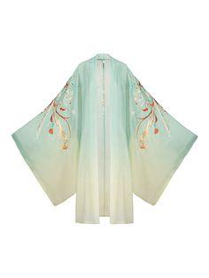 Anime Outfits, Fashion Outfits, Hanfu, Chinese Clothing, Kawaii Fashion, Chinese Style, Traditional Outfits, Kimono Top, Clothes