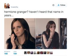"This: | 16 Hilarious Tweets About The Women Of ""Harry Potter"""