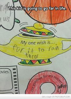 This Kid Knows What Life Is All About
