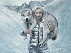 Moncler Fall-Winter 2015/16 Campaign by Annie Leibovitz. #moncler #fw15