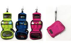 Travel Toiletry Bags - 3 Colors! Sold by CocaLily Boutique $9.99