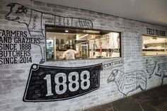 1888 Certified butcher by Morris Selvatico, Sydney   Australia  food