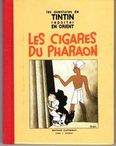 TINTIN CIGARES PHARAON RARE MINI ALBUM NOIR ET BLANC CASTERMAN 1986 SUPERBE ETAT