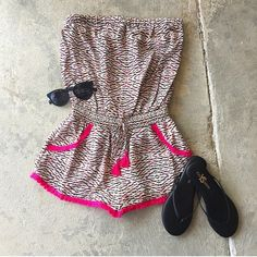 Fringe Romper New with tags. Silk. Charlie Jade Other