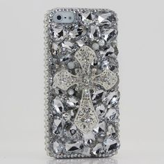 Luxury iphone 5 3D Swarovski Crystal Diamond Silver Cross Design Bling Case Cover (100% Handcrafted by BlingAngels) by BlingAngels. $79.95. Unique Design & Superb Quality that you will NOT find elsewhere! GUARANTEED! Materials: Mix of 100% Authentic Swarovski Crystals + High quality *Bling* Australian Crystals + Special Made Accessories / Decors 100% Handmade: THIS ITEM IS 100% CUSTOM HANDMADE BY A PRO ARTIST WITH 5+ HOURS OF WORK! NOT made by Home DIY Amateurs. How to put ...