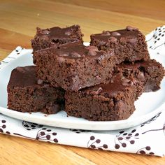 Black Bean Brownies | Alida's Kitchen...I want to try this they sound so moist
