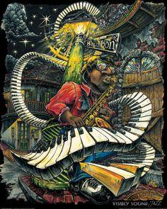 New Orleans artist Jon Guillaume