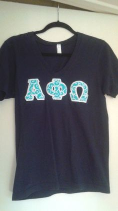 US $15.00 Pre-owned in Clothing, Shoes & Accessories, Women's Clothing, Tops & Blouses Alpha Phi Omega, Lettering, Stitch, Clothes For Women, Women's Clothing, Blouses, Shirts, Tops, Ebay