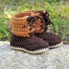 Baby Booties, Crochet Cotton Baby Boots, Winter Style Boots size 0 to 18 months Crochet Baby Boots, Knitted Booties, Crochet Baby Blanket Beginner, Baby Knitting, Baby Boy Booties, Baby Shoes, Winter Fashion Boots, Winter Boots, Unisex Gifts