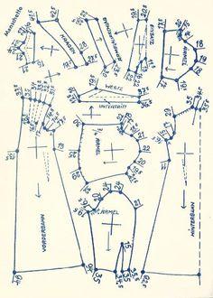 Lutterloh 1938 Book Of Cards -  Models Diagram Card 15