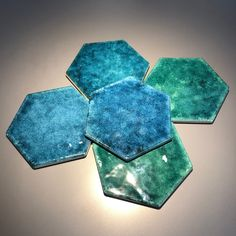 Exagones and colors for Esamarine, elegance and design. One shape and four colurs. Hexagon Tiles, Collections, Shapes, Bathroom, Elegant, Furniture, Design, Home Decor, Home