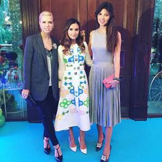 Miroslava Duma in Peter Pilotto.
