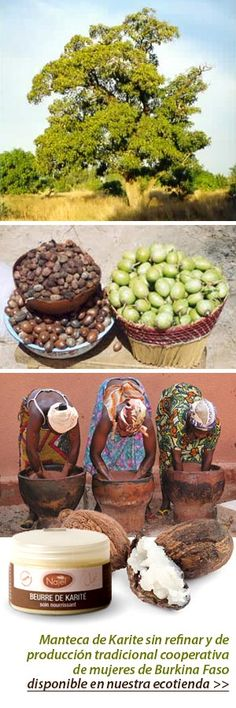 Manteca de Karité: piel bonita y nutrida