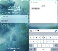 iPhone 7 Lock Screen 3