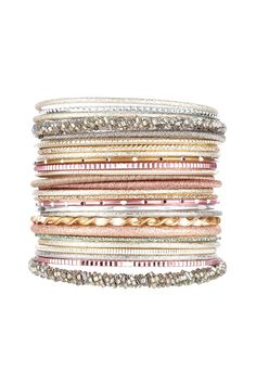 Oasis Jewellery | Multi Bangle Set | Womens Fashion Clothing | Oasis Stores UK