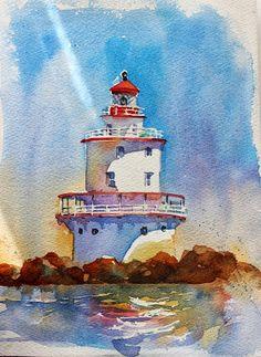 laura's watercolors: brandywine light