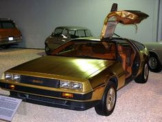 24 carat gold plated DeLorean DMC-12 (1981)