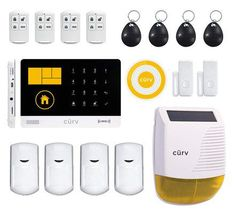 Wireless home security systems Wireless Alarm System, Wireless Home Security Systems, Security Alarm, Security Camera, Wireless Video Camera, Alarm Systems For Home, Home Security Tips, Security Equipment, Wifi