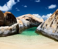 The Baths, Virgin Gorda. I have been here and cannot wait to go back! So beautiful!!! Best Beaches on earth