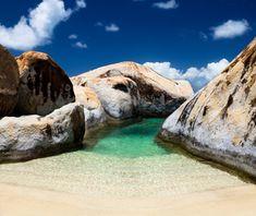 Best Beaches on Earth: The Baths, Virgin Gorda. #caribbean