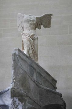 The Winged Victory of Samothrace is back on show at the Louvre