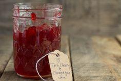 Tart Cherry Champagne Jam