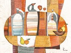 Orange Still Life by IsmaArt on Etsy