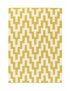Because every room needs a statement piece - Graphic Kilim Rug Home // Marks and Spencer