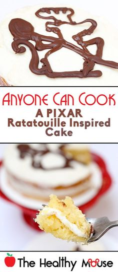 Inspired by Pixar Ratatouille Cake - The Healthy Mouse Disneyland Food, Disney Food, Disney Recipes, Disney Parks, Pixar Ratatouille Recipe, Cookie Desserts, Just Desserts, How To Make Cake, Food To Make