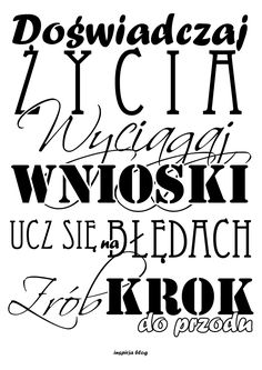 napisy na ścianę - Szukaj w Google Positive Mind, Positive Vibes, God First, Quote Posters, Wisdom Quotes, Word Art, Motto, Picture Quotes, Quotations